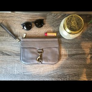 Rebecca Minkoff leather wristlet